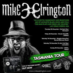 Mike Elrington tour