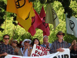 anti-protest laws rally, Hobart 25 Nov 2019