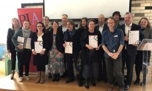 Planning Institute of Australia's Tasmanian award winners. Thursday 7 November 2019, Hobart.