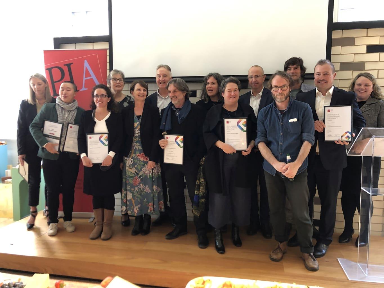 Planning Institute of Australia's Tasmanian award winners. Thursday 7 November 2019, Hobart.