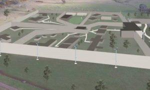 Westbury Prison sketch