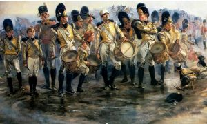 Steady the Drums and Fifes by Lady Butler