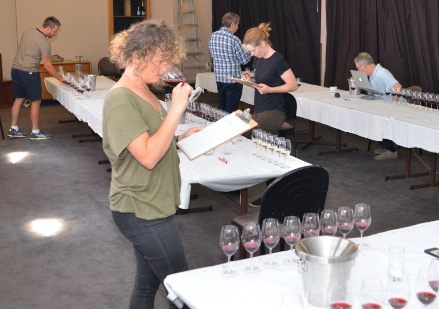Tasmanian wine show