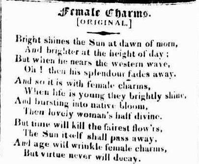 Poet's Corner - Female Charms