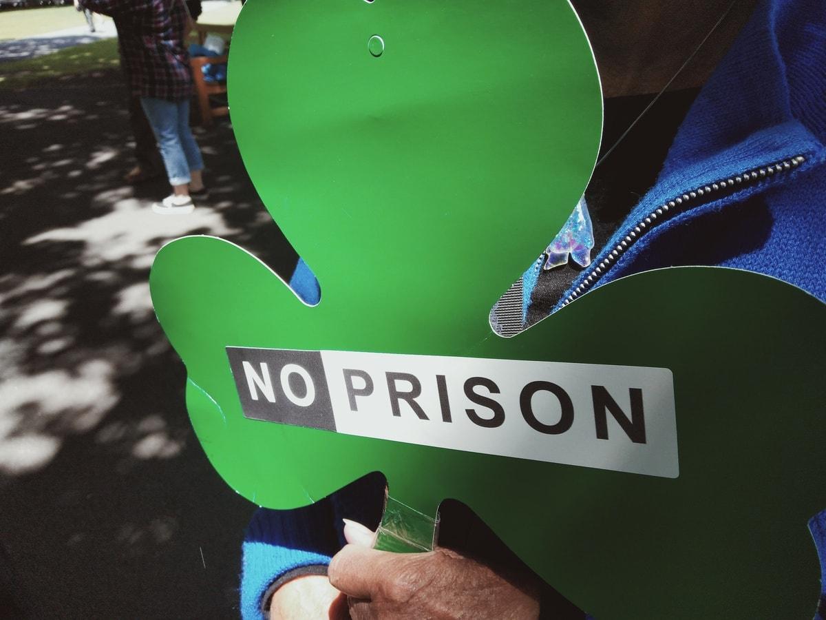 Westbury community protest