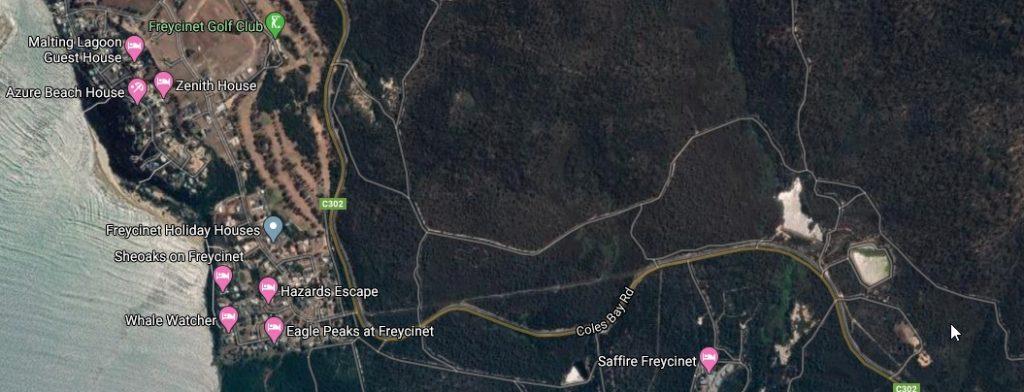 Freycinet sewerage
