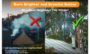 reduce wood smoke